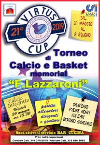 Torneo Virtus Cup, si parte!